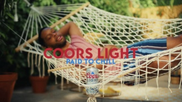 Still image from Coors Light - Paid to Chill