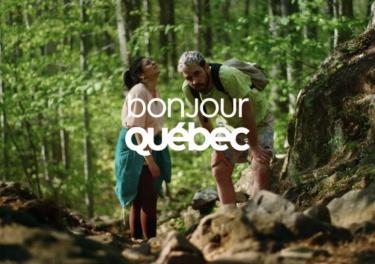 Still image from Bonjour Québec