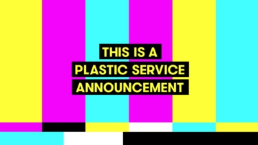 Still image from Plastic Service Announcement
