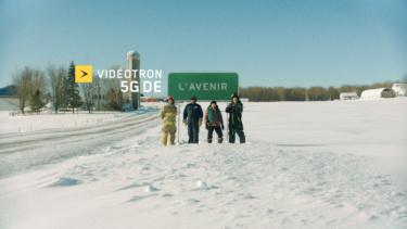 Still image from Videotron présente la 5G de l'Avenir