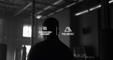Still image from Reigning Champ x Polartec